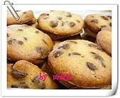 我的作品-餅乾:巧克力豆餅乾