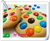 我的作品-餅乾:m&m's巧克力豆餅乾