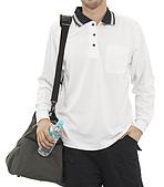 長袖POLO衫-訂製:PL96112