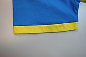 客製化款式介紹:袖口接布配色