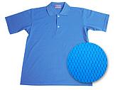 POLO衫、T恤現貨布料:M10寶藍排汗拷貝