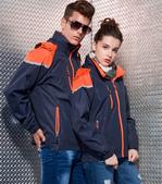 外套現貨(未分類):AC1043薄裡防潑水機能外套-深藍.橘