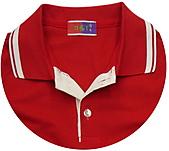 客製化款式介紹:領片織條+內門襟配色
