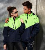 外套現貨(未分類):AC1041薄裡防潑水機能外套-深藍.果綠