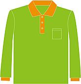 長袖POLO衫-訂製:PL93007