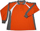 長袖POLO衫-訂製:PL97035