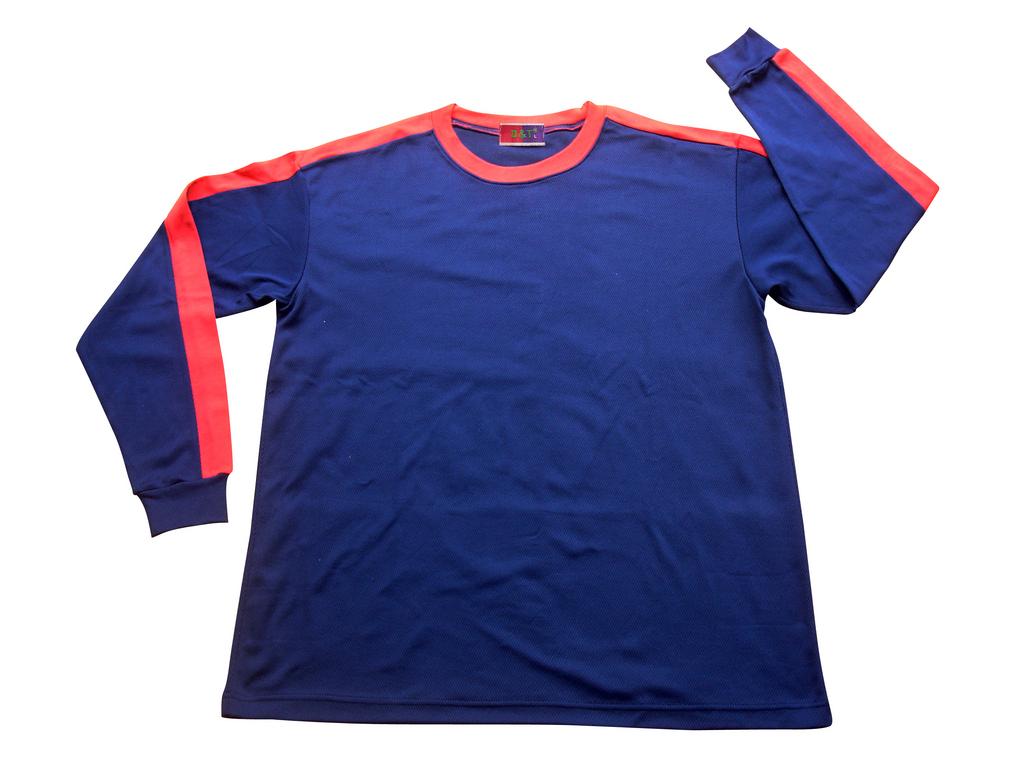 長袖T恤衣款-訂製:T106