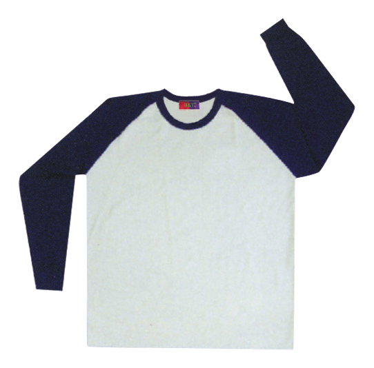長袖T恤衣款-訂製:T77