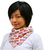 頭巾.領巾:B40