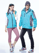 外套現貨(未分類):兩件式可拆式大衣(翠綠) CL179.JPG