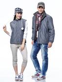 外套現貨(未分類):兩件可拆式大衣(深灰) CL178.JPG