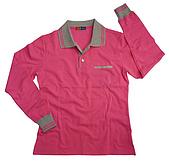 長袖POLO衫-訂製:PW37