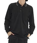 長袖POLO衫-訂製:PL96117