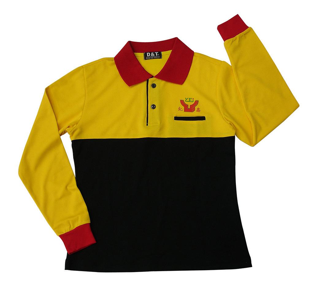長袖POLO衫-訂製:PW36