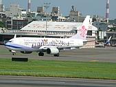 自己拍攝的飛機照片:01華航 B737-800 03