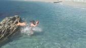 我要成為海賊王(蘇澳sup+浮潛):內埤海灣乾淨的海水.jpg