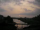 冬山河單車之旅:清晨的冬山河
