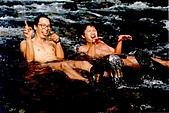 大同-梵梵野溪溫泉:二隻快淹死的