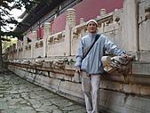 中國北京瀋陽之旅:十三陵內殿一角.jpg