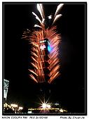 『歡樂時光』相簿主題投稿活動:[b770912] 2009年101跨年煙火秀!