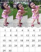2008年月曆與年曆分享活動!!:[iam.maruko] 媱媱寶貝三連拍