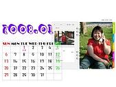 2008年月曆與年曆分享活動!!:[angela.ah] 1月