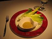大提琴聲音廚房&貓空纜車:點了一道120元的沙拉,本以為會是一盤,但卻是五根菜!有貴