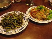 新店山東餃子館:乾扁四季豆$180 叢林雞$250