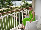 帛琉五日遊-Day3.4大斷層-長灘島-硬珊瑚區-鯊魚城 :房間的陽台