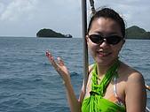 帛琉五日遊-Day3.4大斷層-長灘島-硬珊瑚區-鯊魚城 :遠遠看像一隻鯨魚吧