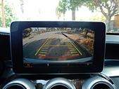 網誌用的圖片:BENZ C300倒車顯影.JPG