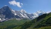 2018 歐洲行 - 瑞士:左到右,艾格峰、和尚峰、少女峰