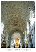 Munchen ~:Interior of St' Michael Church ~