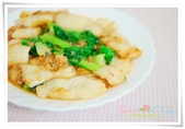 What's Cooking??:清江菜炒鯛魚片 Fish fillet with baby Bok Choy