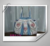 拼布-大包小包:喜佳試用布~藍玫瑰花.jpg