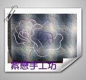 拼布-大包小包:站牌女孩玫瑰花三層斜背包6.jpg