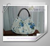 拼布-大包小包:藍玫瑰花空氣包3jpg.jpg
