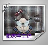 拼布-大包小包:站牌女孩玫瑰花三層斜背包4.jpg