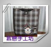 拼布-大包小包:站牌女孩玫瑰花三層斜背包7.jpg