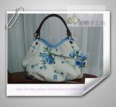 拼布-大包小包:藍玫瑰花空氣包.1jpg.jpg