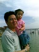 歆妤Baby-2~3歲:摸完蛤仔來七股的觀海樓觀看潟湖