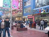 中國-上海&蘇州:上海-南京步行街逛街人潮