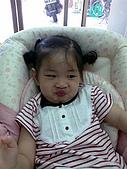 歆妤Baby-2~3歲:哼-媽咪說要把我的餐搖椅送人了