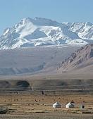 南北疆之完結篇《走在帕米爾高原上》:21雪山下的遊牧人家.jpg