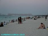 杜拜再起之過客見證:23杜拜Marina黃金海灘仍舊人滿為患.JPG