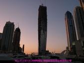 杜拜再起之舞向藍天的無限塔旋轉超高大樓:04屹立於夕照中杜拜infinity_tower無限塔旋轉超高大樓.JPG
