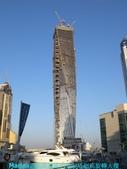 杜拜再起之舞向藍天的無限塔旋轉超高大樓:11杜拜Marina遊艇碼頭區的infinity_tower無限塔旋轉大樓.JPG