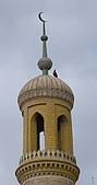 南北疆之45屋簷下的喀什(下):06艾提尕爾清真寺塔樓.jpg