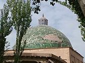 南北疆之48香妃傳奇:04香妃陵墓巨大穹頂.JPG