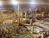 杜拜再起之杜拜名言-世人只記得第一:07鳥瞰世界最高的杜拜阿里發塔.JPG